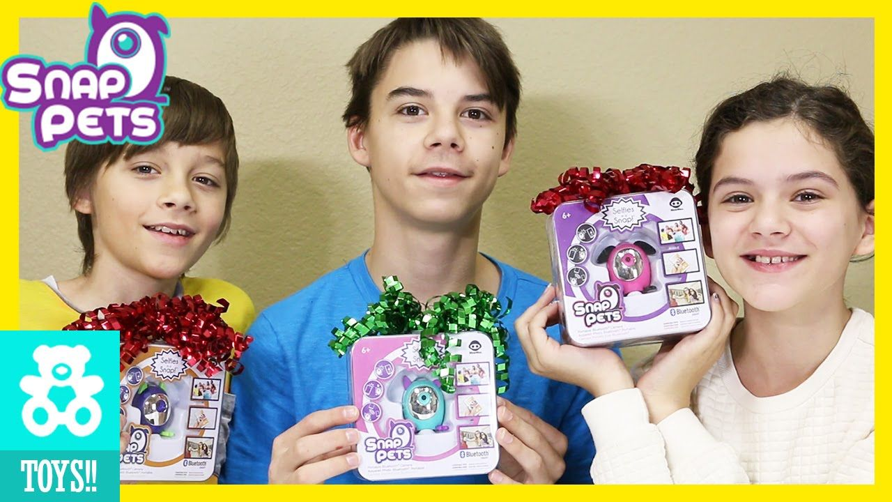 SURPRISE CHRISTMAS GIFT FROM WOWWEE! | SNAP PETS! Toys ...
