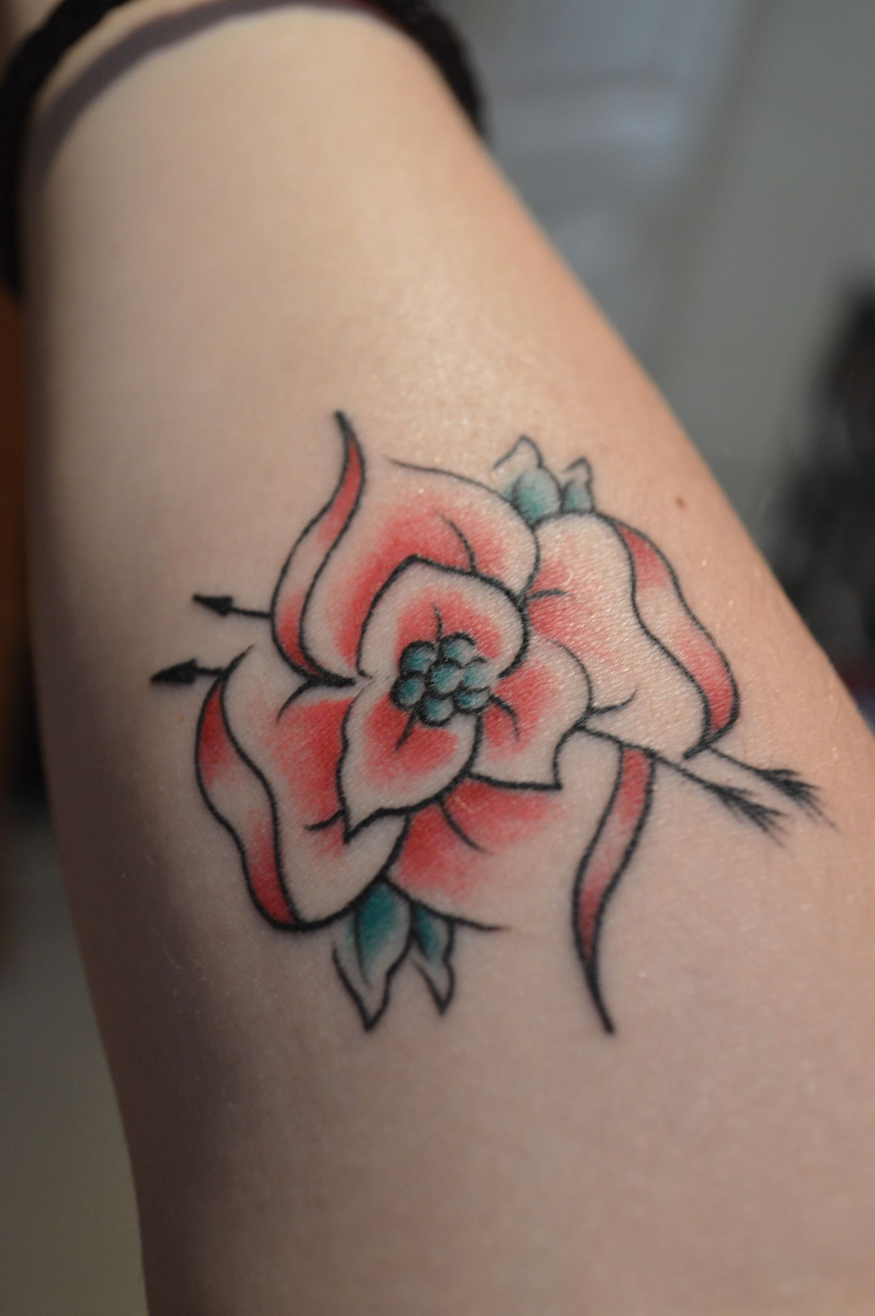 La Dispute rose by Sarah, Vivid Ink Birmingham, England