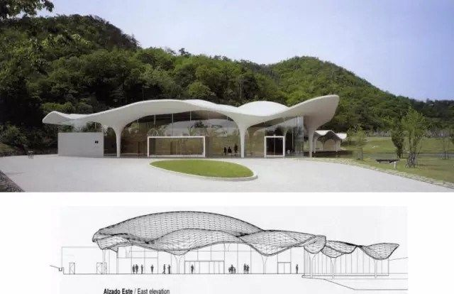 Best 輕鬆安寧的往生:「冥想の森」岐阜縣市政殯儀館 Roof Architecture Gable Roof 400 x 300