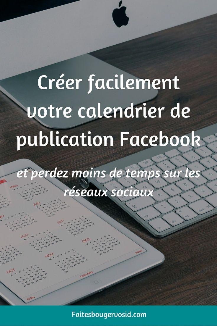 Facebook créez votre planning de publications en 4