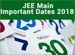 All Details Of Jee Main 2018 Important Dates Available Here And For More Visit At Https Www Entrancezone Com Engineering Jee Ma Important Dates Dating Maine