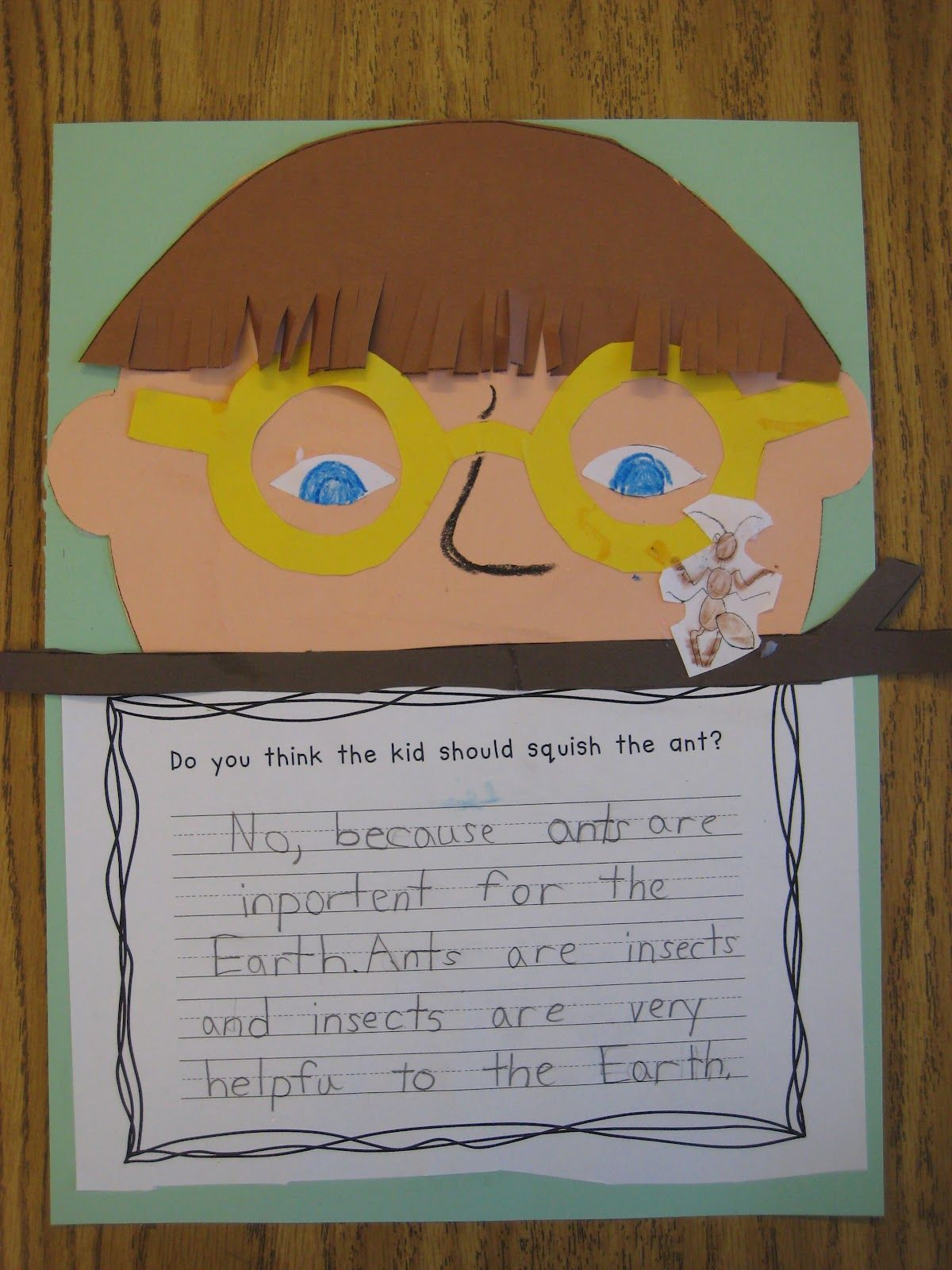 Hey little ant opinion writing craft