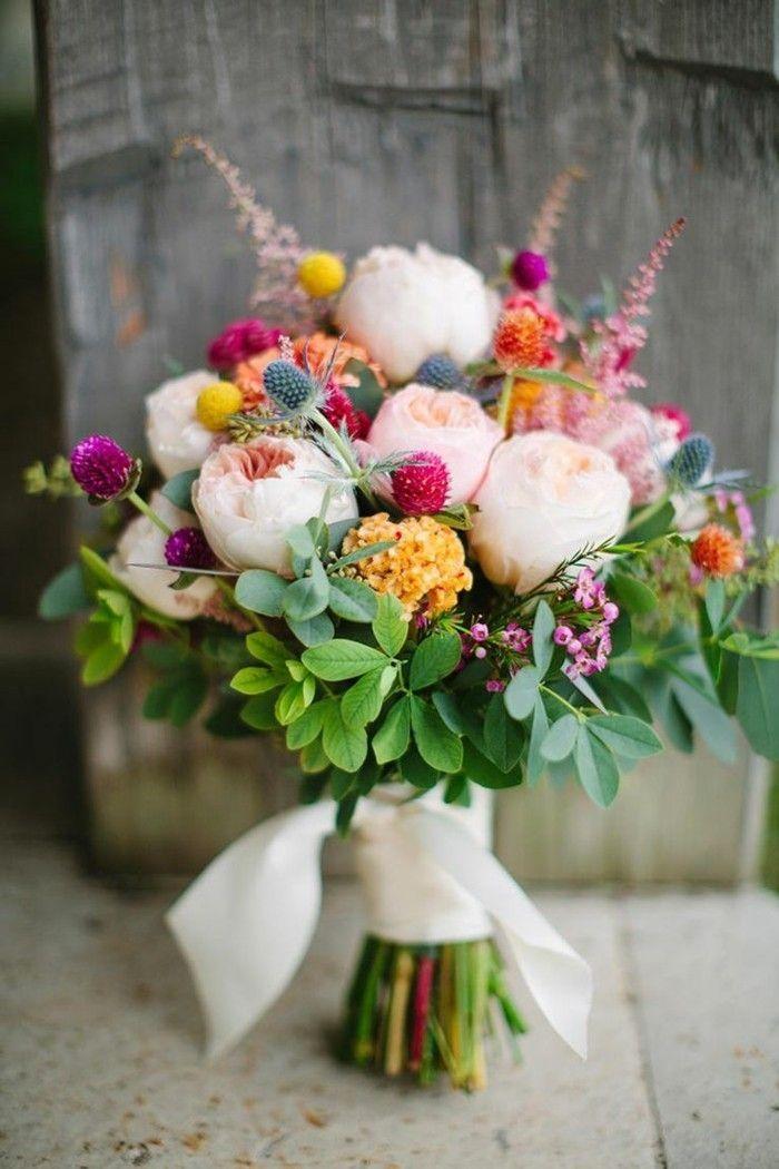 Attacher un bouquet vous-même – donc ça va pas à pas   – Blumen & Tischdekoration Ideen