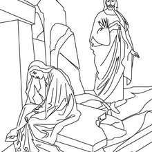 Jesus Christ And Mary Magdalene Coloring Page Coloring Page