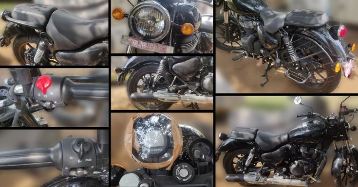 Photo of Royal Enfield Headlight Scooters