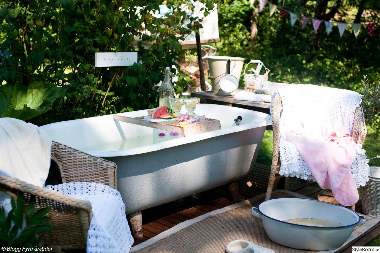 spa badkar utomhus