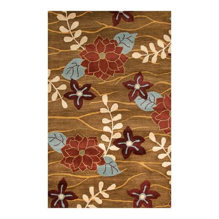 I pinned this Avalon I Rug in Dark Gold from the Noble House event at Joss and Main!