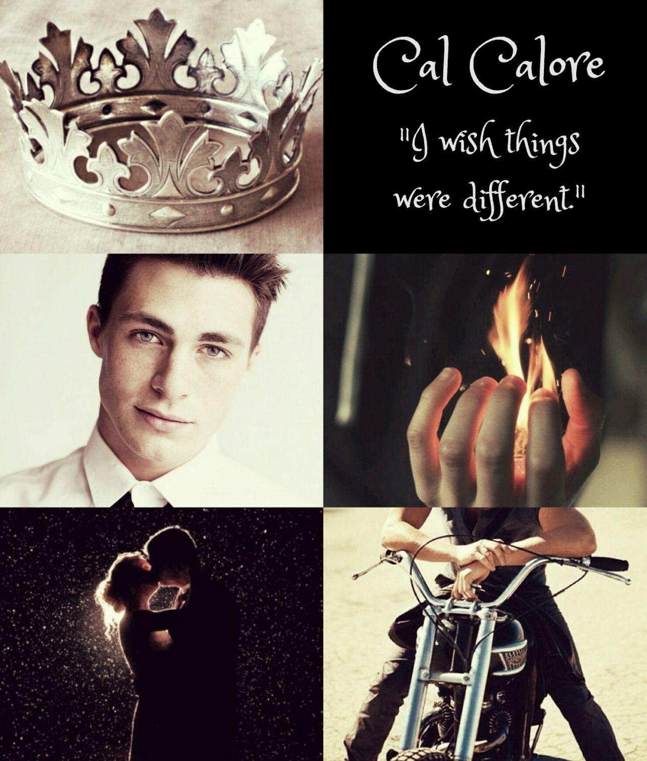 Cal Calore The Red Queen Personagens De Livros Personagens