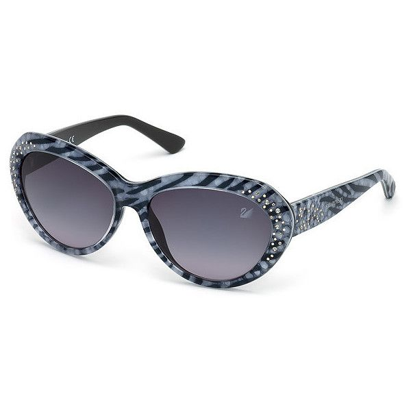 e61d71c53d4d Swarovski Darling Zebra Sunglasses - Asian fit