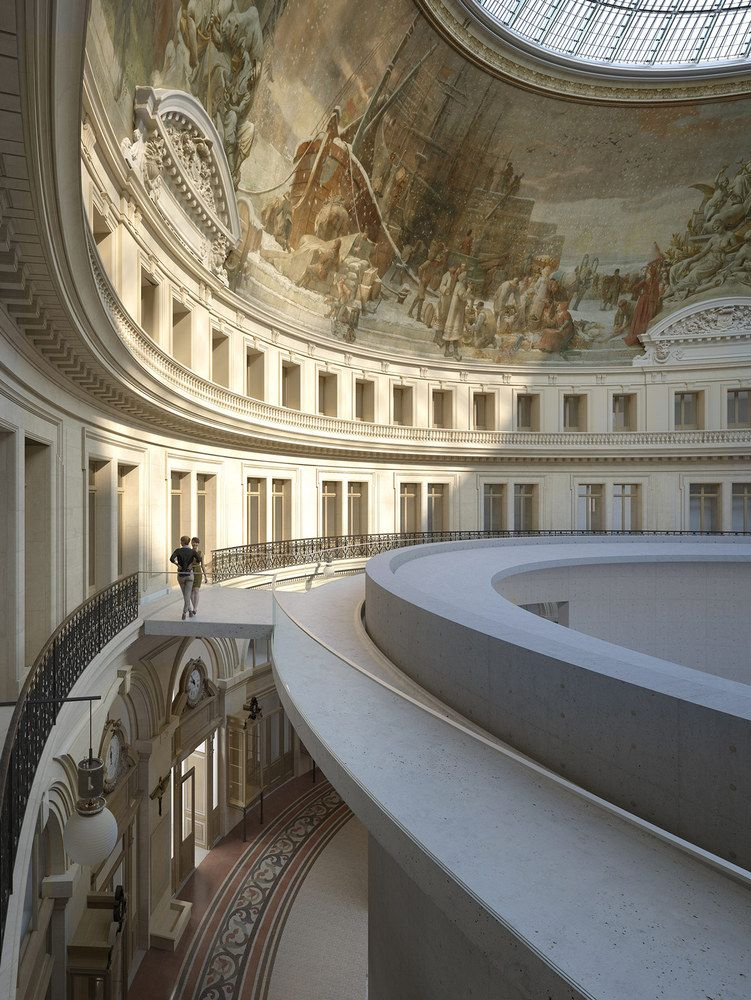 Tadao Ando to Design Art Museum Inside Historic Domed Structure in Paris,Courtesy of Collection Pinault Paris