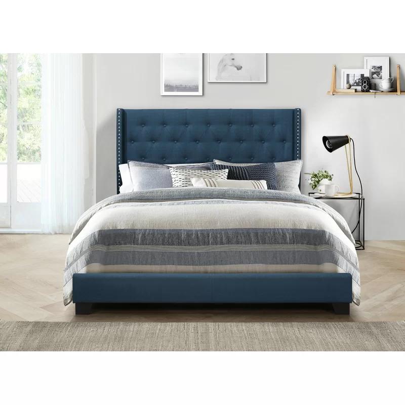 Greyleigh™ Aadvik Tufted Upholstered Standard Bed