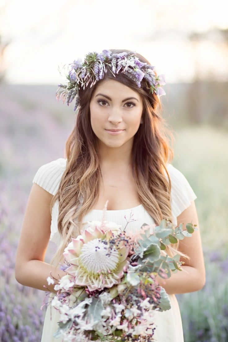 fabulous flower crowns - the perfect bridal hair accessory | flower