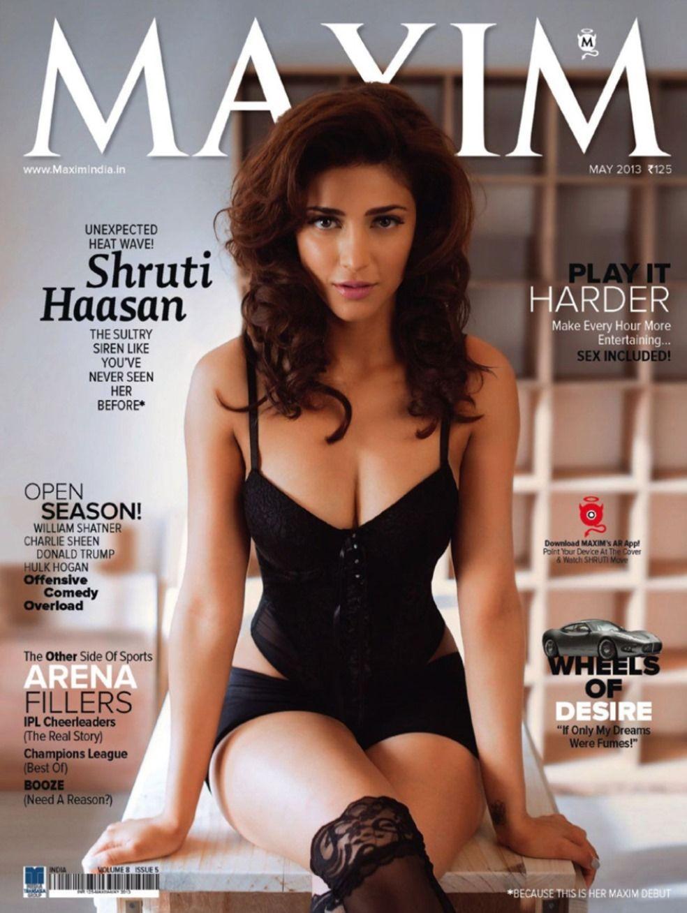 Shruti Hassan Hot Stills For Maxim Magazine|Shruti Hassan Hot ...