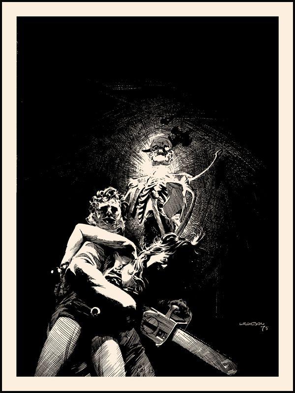 Texas Chainsaw Massacre - Berni Wrightson - \'\'Dark as a Dungeon ...