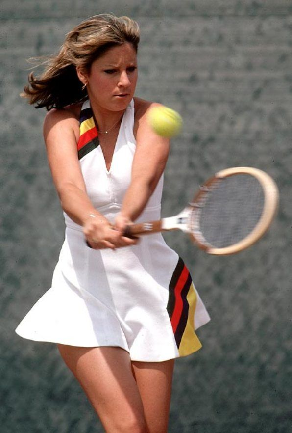 Pin By Geza On Love Means Nothing To Me Tennis Players Female Tennis Fashion Chris Evert