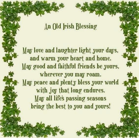 Brynwood Needleworks An Old Irish Anniversary Blessing