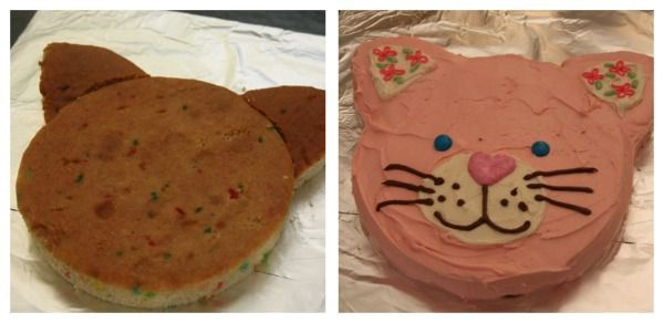 Cat Shaped Cake