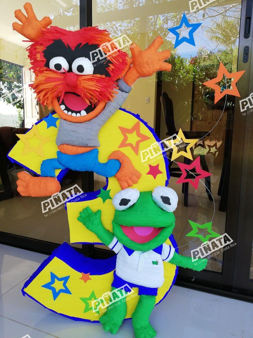 Piñata muppets babies # fiesta muppets | Isaiah Turns 2 in