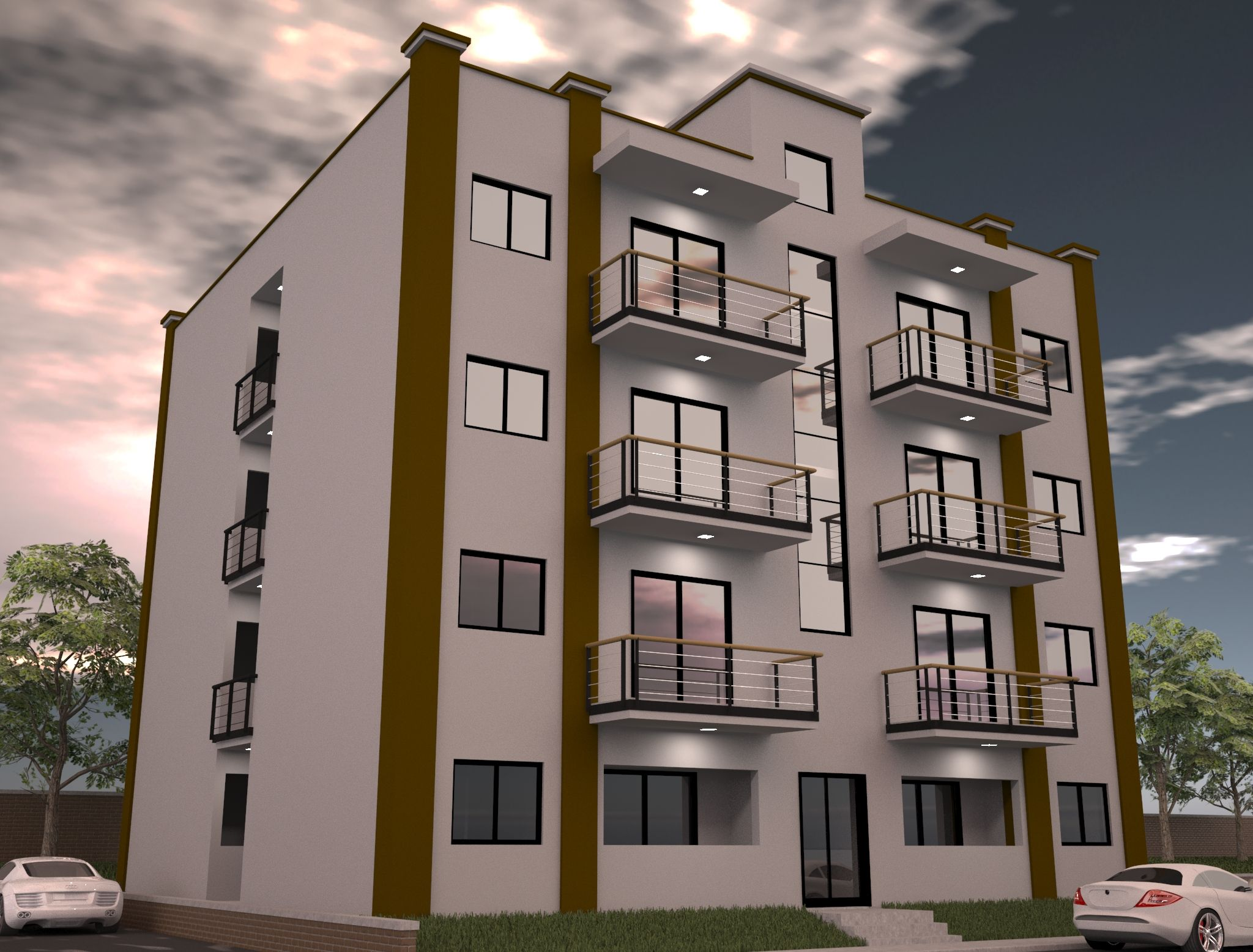 Small Apartment Building Designs modern style small apartment design apartment House Apartment Exterior Design Ideas Waplag Building_exterior Design