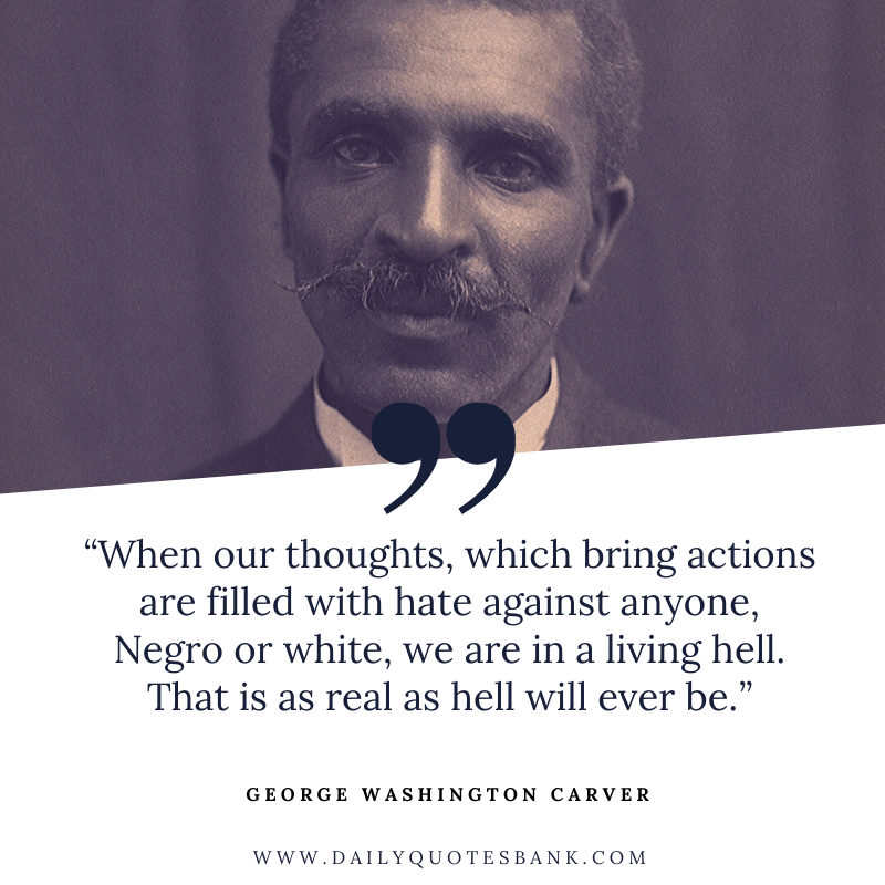 Washington Carver Famous Quotes, Lines, Biography