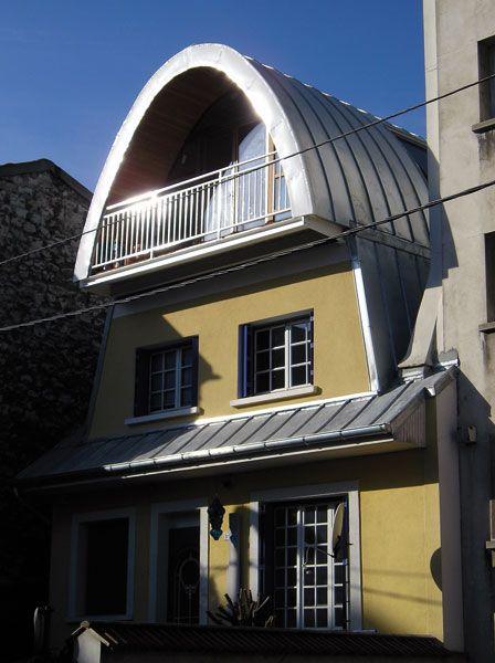 Architecture, Montreuil-sous-Bois, dans l\u0027est de Paris Surélévation - qu est ce qu une maison bioclimatique