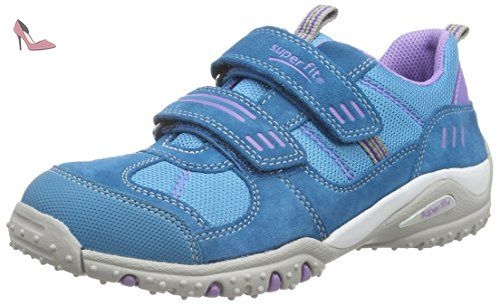 Superfit Sport4, Basses Fille - Bleu - Blau (Pacific Multi),