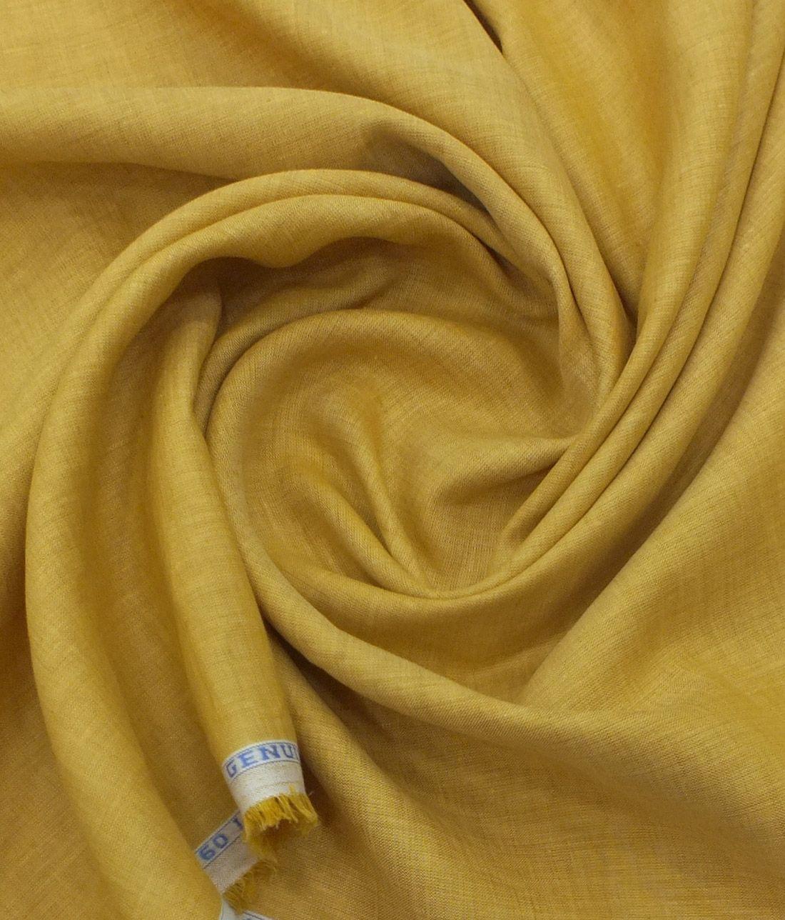 Linen Club Butterscotch Beige 100 Pure Linen 60 Lea Self Design Shirt Fabric 1 60 M Club Shirts Pure Linen Pure Products
