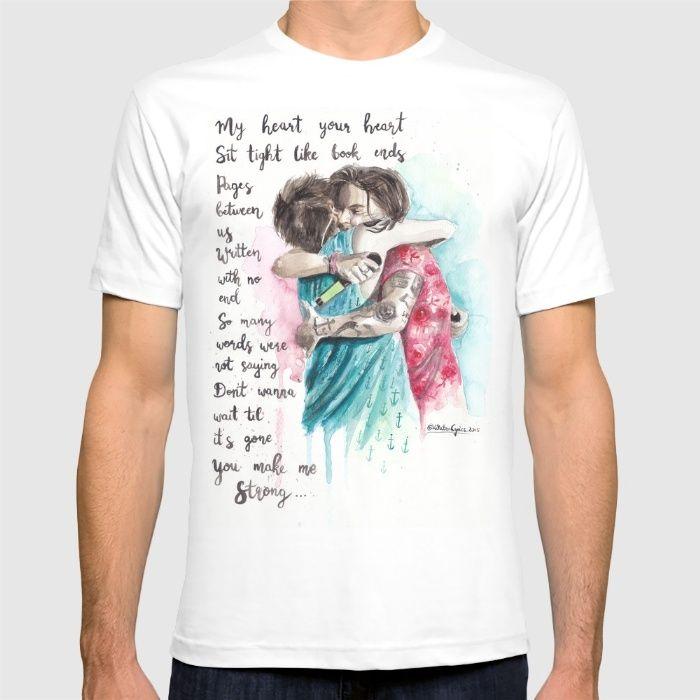 Anchor Hug T-shirt by WaterLyrics