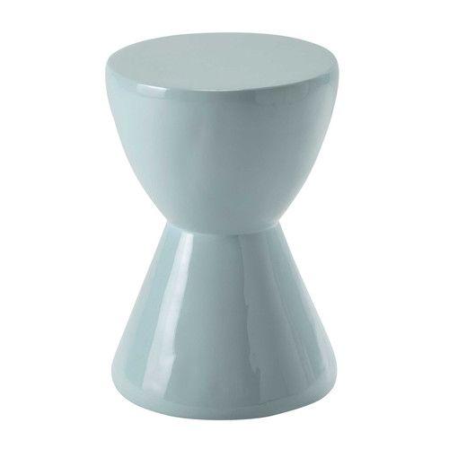 JAKKARA resin stool in light blue
