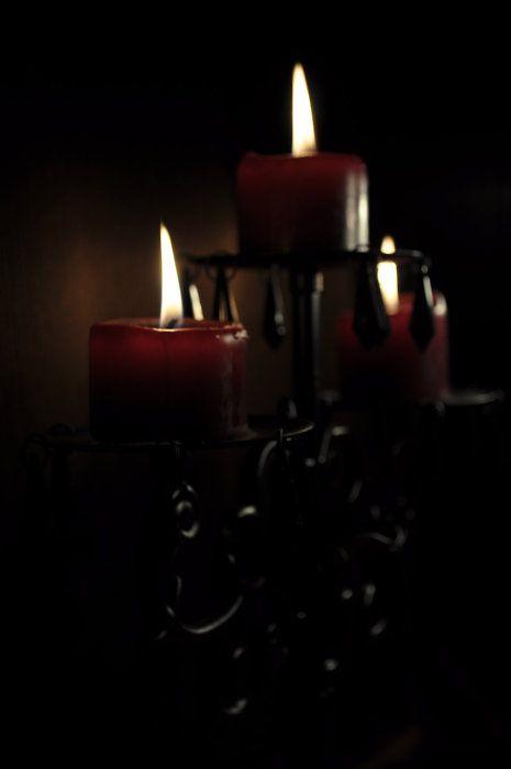 I Love Dark Candles