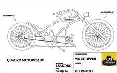 KIT CHOPPER, BICICLETA CHOPPER,BIKE CHOPPER | Chopper moto