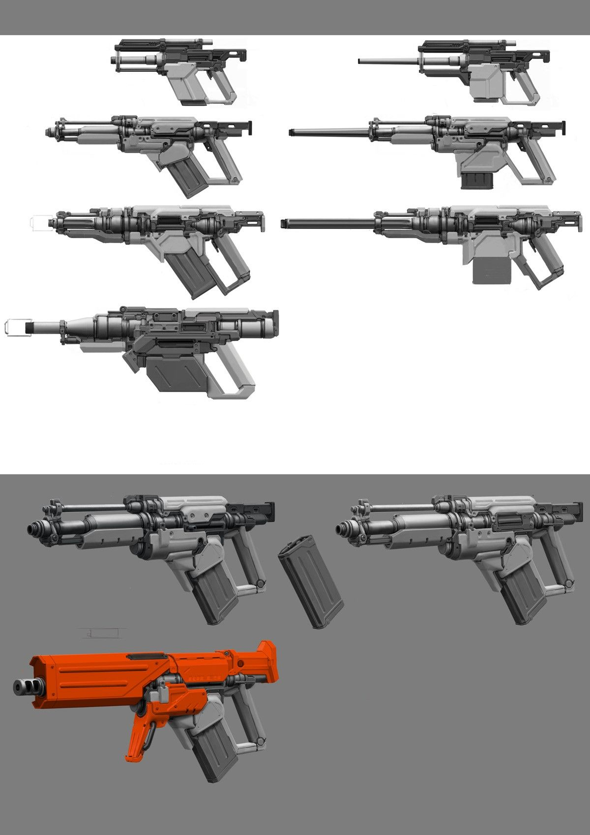 The Specialist Blaster Concepts | Guns and Props | Pinterest | Guns ...