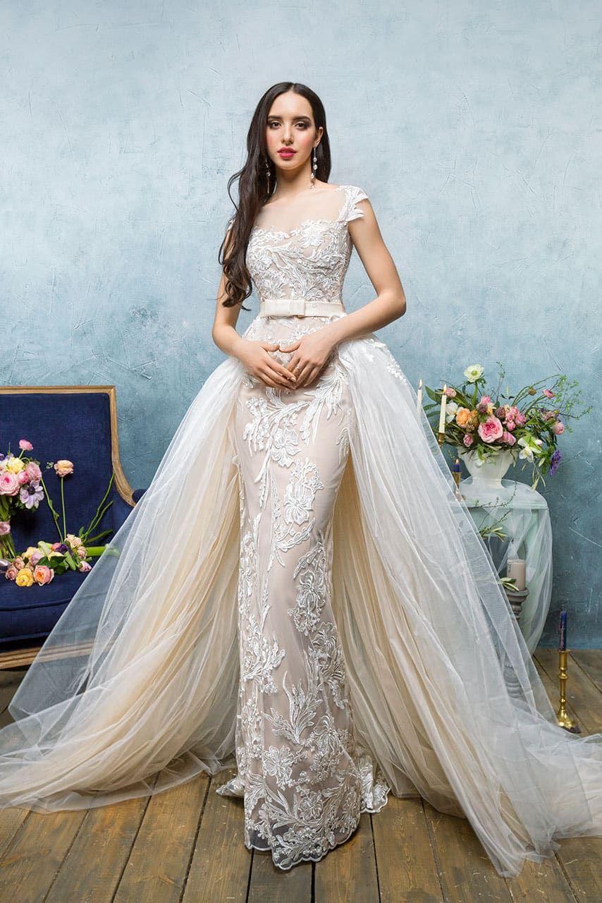 449e9cee5d0 Свадебное платье Анна Кузнецова Shantal ▷ Свадебный Торговый Центр Вега в  Москве