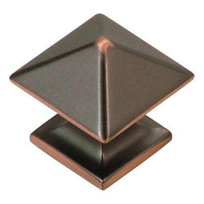 "Hickory Hardware P301 Contemporary Studio Knob Oil rubbed Bronze   Base 1"",Dia1 1/4"", Projection 1 1/4"" Large knob$4.79 #2376044S"