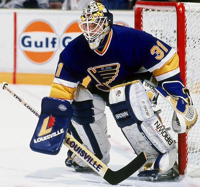 Curtis Cujo Joseph St Louis Blues Hockey Blues Nhl St Louis Blues