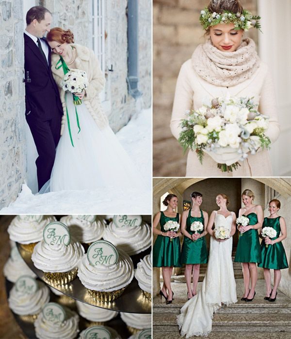Top 6 Classic Winter Wedding Color Combo Ideas Weddingcolorideas Winterweddingideas Tulleandchantilly