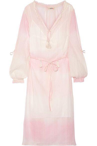 Wear Resistance Berhan Embroidered Dégradé Cotton-gauze Maxi Dress - Pastel pink Lemlem Free Shipping Supply Shop Offer Buy Cheap Classic Outlet Big Sale a5Zo7