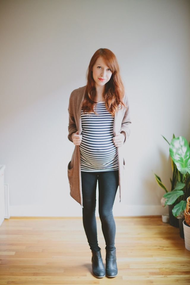 Pregnant Street Style: 50 Ways to Look Chic While You're Expecting ...