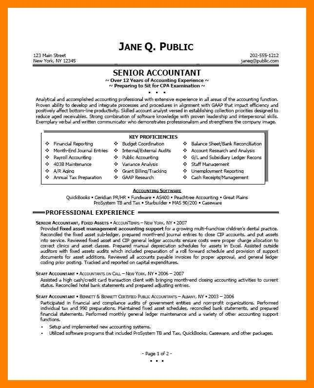 Image result for accountant resumes examples | resume examples ...