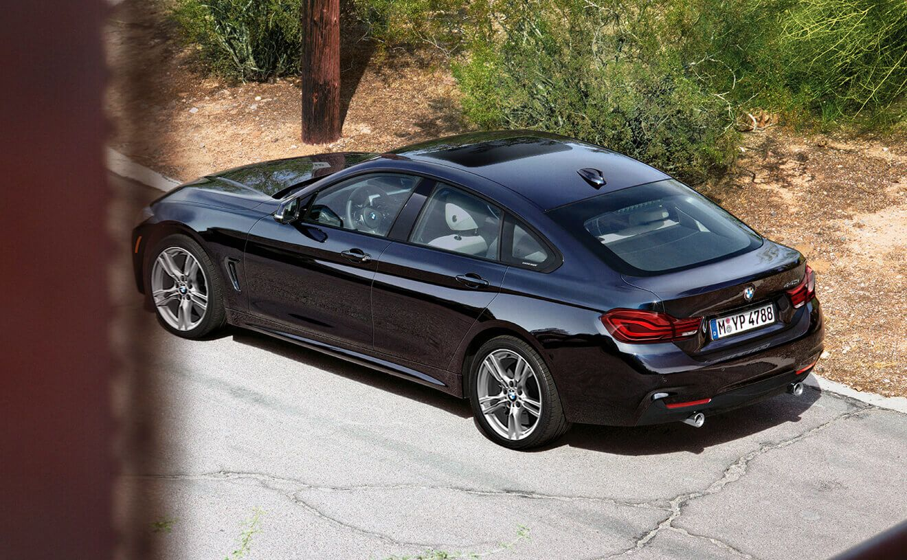 The Bmw 4 Series Gran Coupe In Imperial Blue Metallic With M Sport