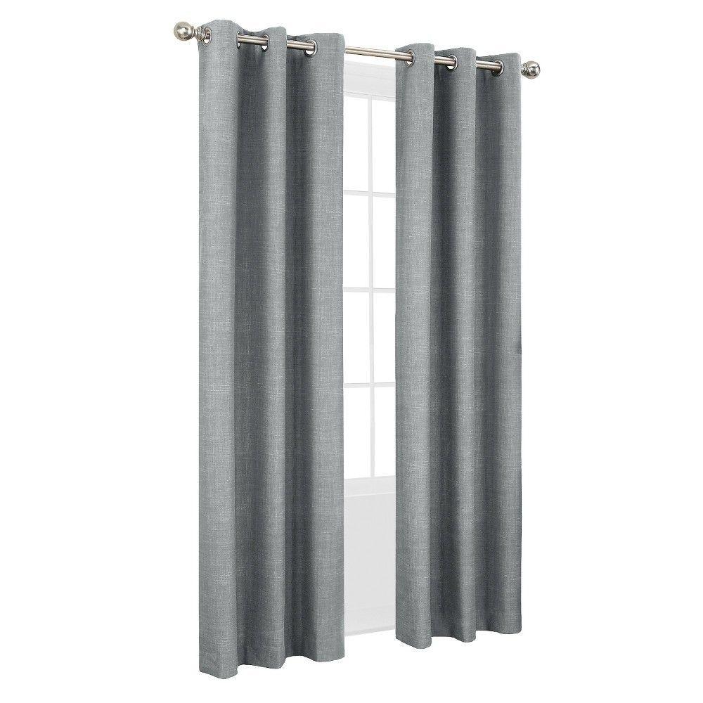 Sun Zero Haverhill Thermal Lined Curtain Panel 40 X Panel Curtains Lined Curtains Grommet Curtains