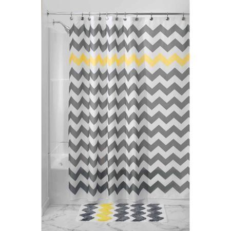 Home Yellow Shower Curtains Chevron Shower Curtain Grey Chevron Shower Curtain