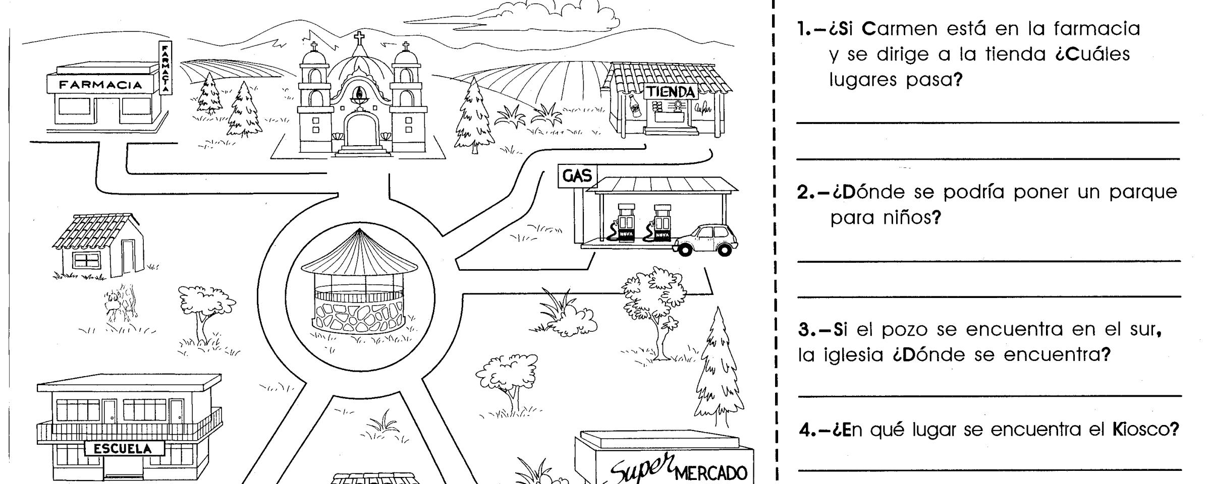 Lectura De Croquis Material De Aprendizaje Libros De Matematicas Hojas De Trabajo De Matematicas Actividades