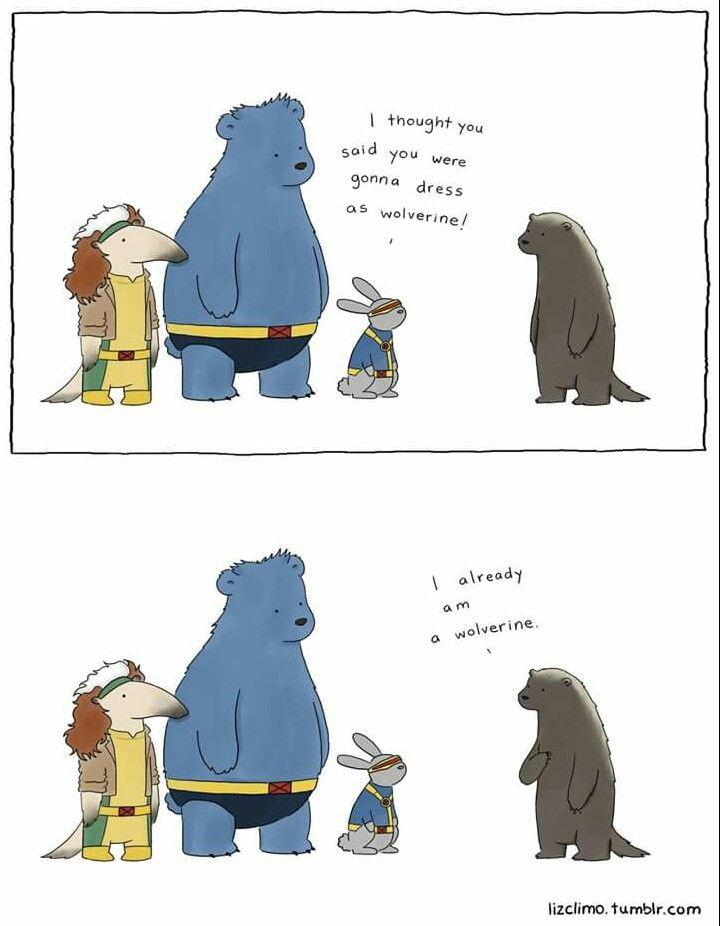 Liz Climo comic tumblr #HalloweenComic