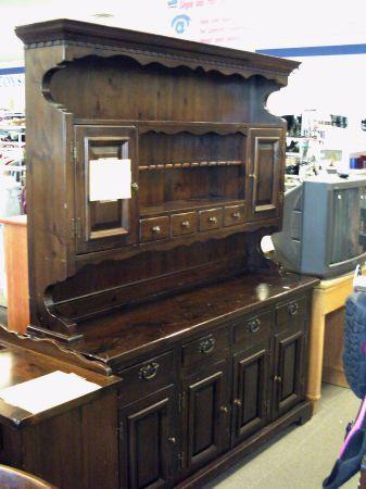 Bennington Pine Company Hutch Great Items Found At