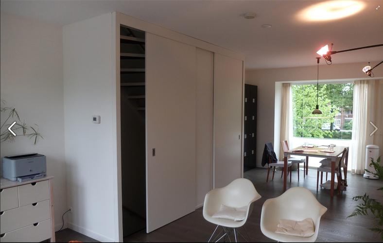 Schuifdeur trap trapkast dicht thuis in 2018 trap open trap