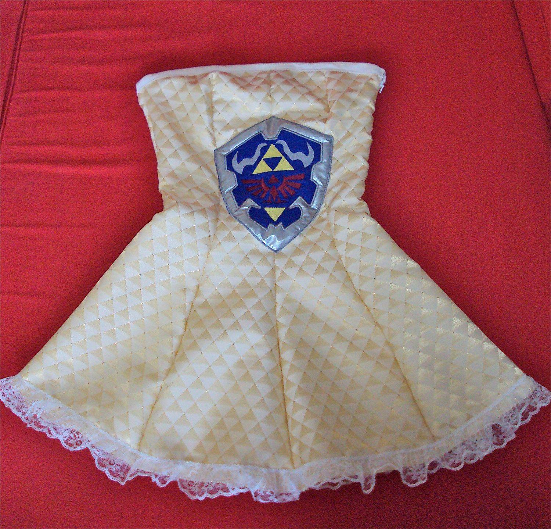 Legend Of Zelda Dress Made Of Triforces