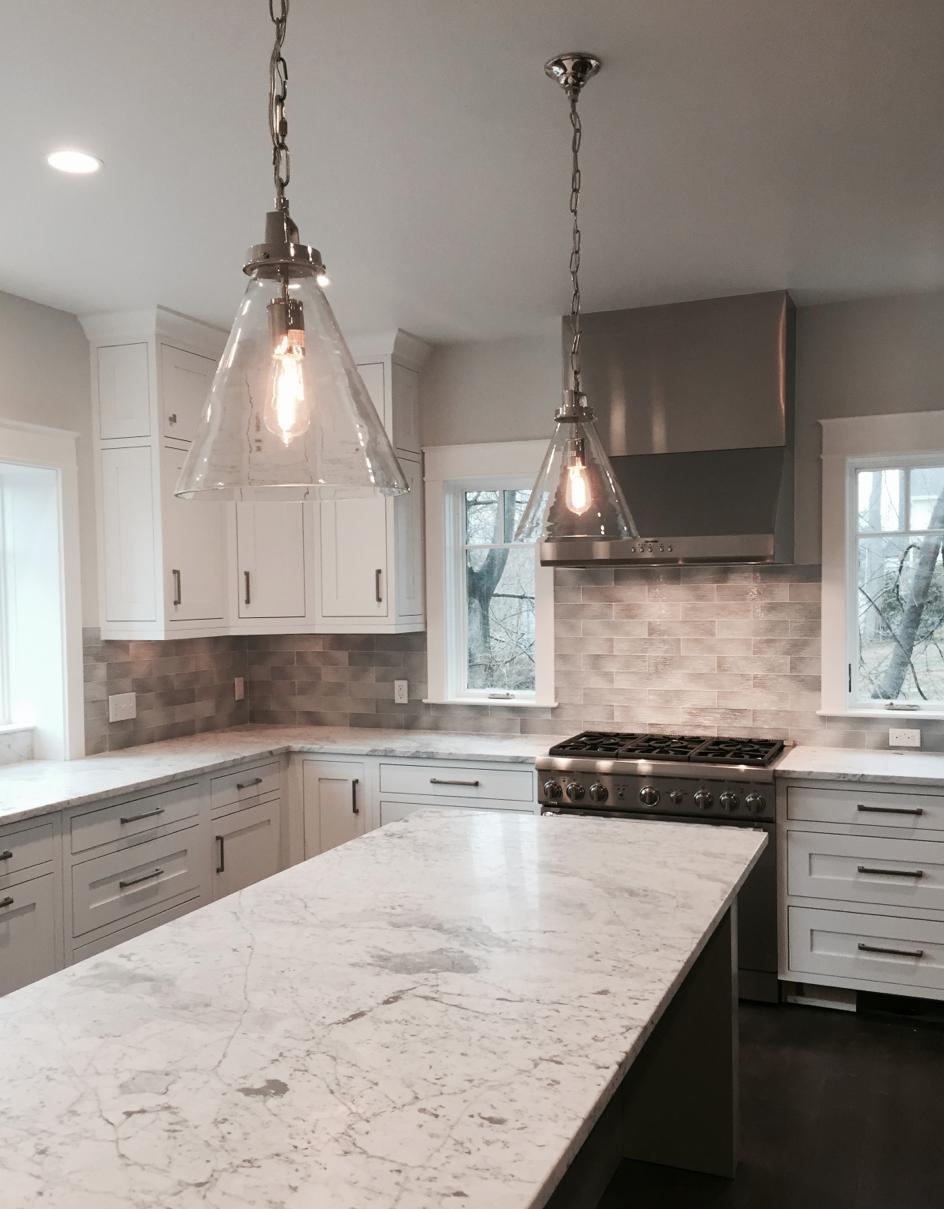 Charming Silver Backsplash Ideas Part - 5: Rain Glass Silver Backsplash #glass #tile #thetileshop