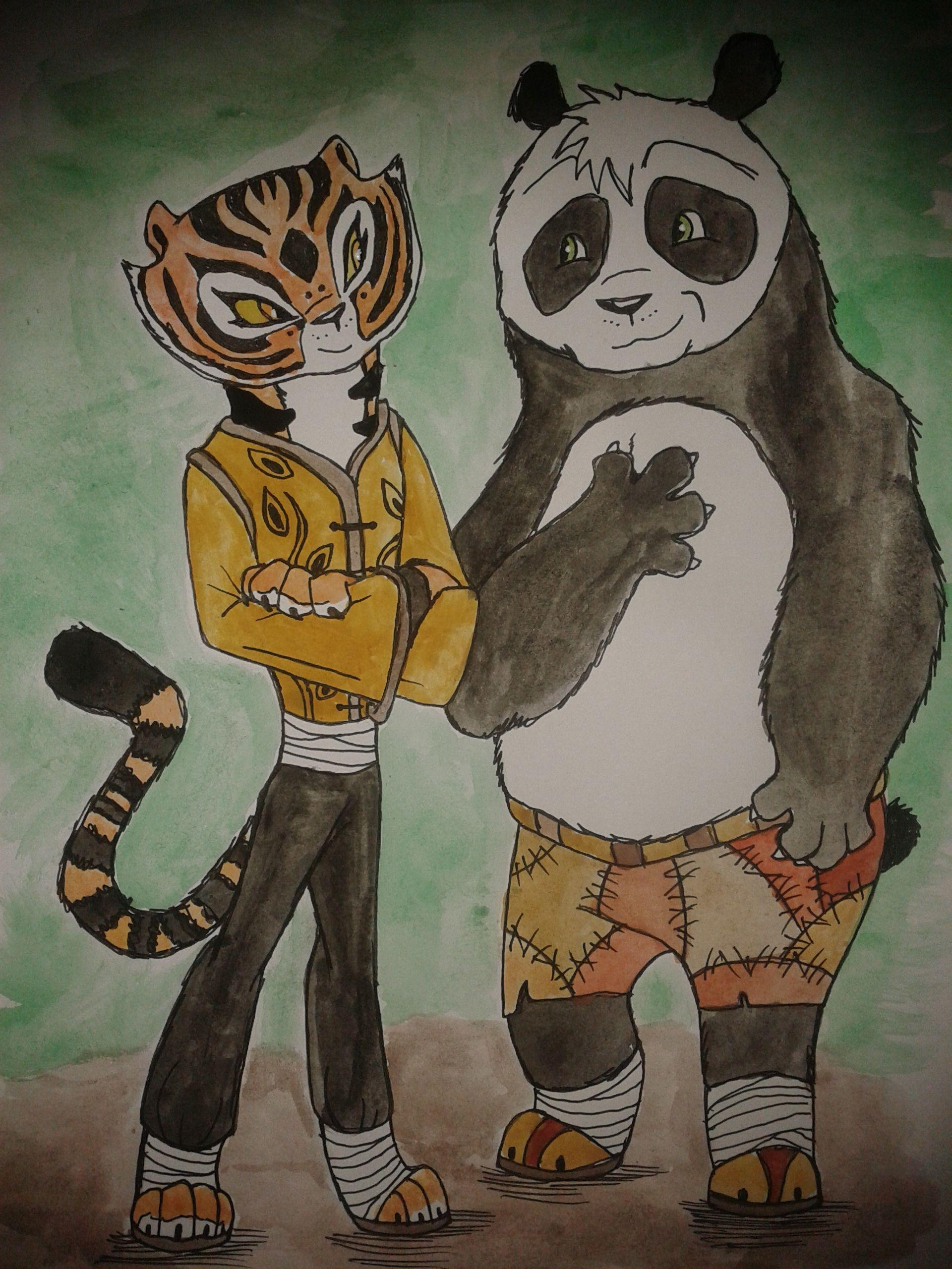 Pin em Po and Tigress - TiPo