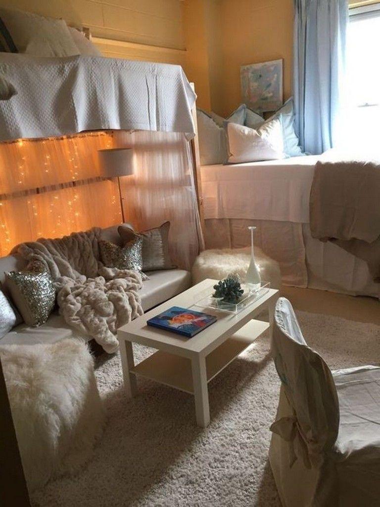 40+ Luxury Dorm Room Decorating Ideas On A Budget | Lofted ... on Luxury Bedroom Ideas On A Budget  id=81180